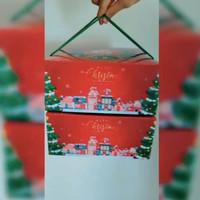 Box Natal - Christmas Gift Box - 25x25x11.5cm isi 10pcs