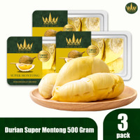 KING FRUIT Durian Super Montong Paket 3 Box
