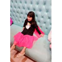 Dress Anak Tutu Princess - Super Dress - Princess Outfit Glitter SD11H