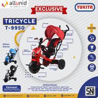 Sepeda Anak Roda Tiga TRICYCLE YUKITA T-9950