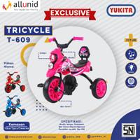 Sepeda Anak Roda Tiga TRICYCLE YUKITA T-609