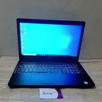 Laptop DELL PRECISION 3520 - COREI7 7700HQ - RAM 16GB - SSD - NVIDIA - SSD 256GB