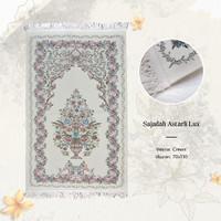 Sajadah Premium Turkey Bordir Lux - Sufi Astarli