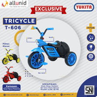 Sepeda Anak Roda Tiga TRICYCLE YUKITA T-606