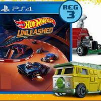 kaset ps4 hot wheels unleashed/ kaset ps4 hotwheels