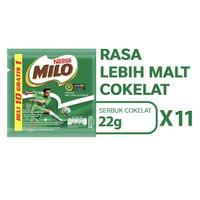 Milo Active Go Renceng 22gr x 11 (Sachet) / Susu Coklat Milo