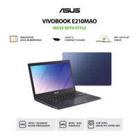 NOTEBOOK ASUS E210MAO HD451 N4020 4GB 512GB WIN10+OHS BLUE