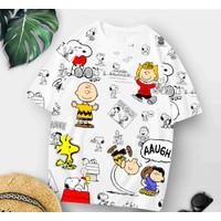 T-Shirt S8 XL / Baju Kaos Wanita XL Oversized Katun Combed 30s Premium