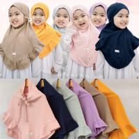 Jilbab Anak Sahara Hullapop Mix Warna Size 1-5tahun