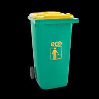 Tempat Sampah 120 Liter Atari Green Leaf 9955 Tebal Dust Bin Plastik