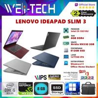 "LENOVO IDEAPAD SLIM 3 - i5-10210U 8GB 512GB MX330 2GB 14""FHD WIN11 OHS"