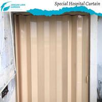 Partisi ruangan rumah   penyekat pintu lipat plastik  PVC Folding Door