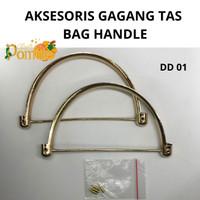 AKSESORIS TAS GAGANG / BAG ACCESSORIES BAG HANDLE ROSE GOLD IMPORT