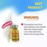 Immunol 3 ML immune booster pro lysine 3ml Obat FLu kucing anjing