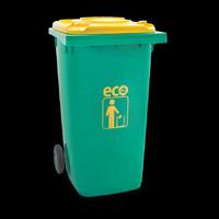 Tempat Sampah 120 Liter Atari Green Leaf 9961 Tebal Dust Bin Plastik