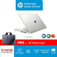 HP Laptop 14S-DQ2052tu & DQ2053tu i5-1135G7/8GB/512GBSSD/14/WIN10+OHS