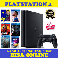 PLAYSTATION 4 SLIM 500GB Bonus games digital random 4-7