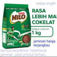 susu milo bubuk rasa lebih malt cokelat 1kg active go 1 kg malt coklat