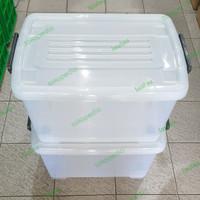 Storage Box Container CB 45 Liter Multiclub Tebal Kuat Miniso Shinpo