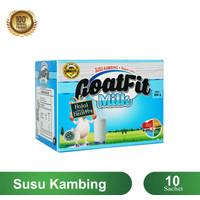 SG Susu Kambing Etawa Bubuk Full Cream Original GOATFIT SACHET 10 PCS