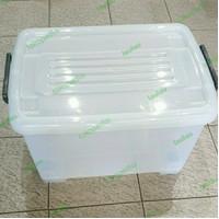 Container Box CB 45 Liter Transparan Multiclub Mirip Shinpo Ezy Wagon