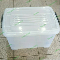 Box Container CB 45 Liter Roda Multiclub Bening Transparan Sky Shinpo