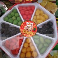 manisan aneka buah imlek 600g/buah imlek/valentine/kue keranjang