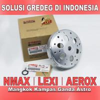 Mangkok Kampas ganda Nmax Aerox 155 Lexi Custom solusi gredeg gredek - NMAX 2017-2021