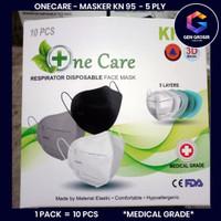 Masker One Care KN95 10Pcs 1Box