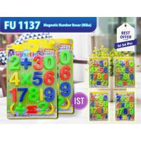 Mainan Anak Magnetic Game Number Angka Jumbo Edukasi Belajar FU1137