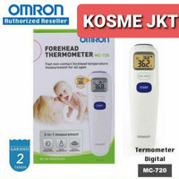 Thermometer Forehead Omron MC720 /termometer