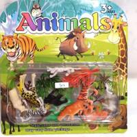 mainan miniatur animal world mini/miniatur binatang