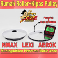 Pulley Rumah Roller NMAX AEROX 155 LEXI 125 Upgrade CVT Astrocustom - LEXI