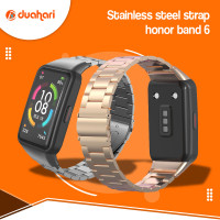 HUAWEI Honor Band 6 Strap Stainless Steel Metal Replacement