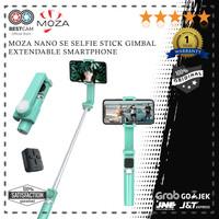 MOZA Nano SE Selfie Stick Gimbal Extendable Smartphone with Bluetooth