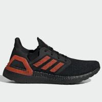 ⛔SOLD⛔Sepatu Running Adidas Ultraboost 20 Mens Black Red Original