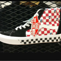 Sepatu Vans sk8 comfycush /black /red