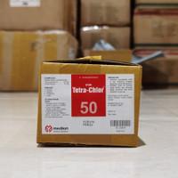 Obat Hewan Tetra Chlor 50 Kapsul box isi 12 botol