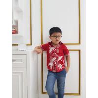 Yuta - Addis Boy Shirt / Kemeja Batik Anak Laki-Laki - 4