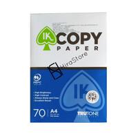 Kertas HVS A4 70 GSM kertas print potocopy merk IK Copypaper
