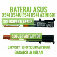 BATERAI A31N1601 ASUS X541 X541N X541NA X541S R541UA R541UJ