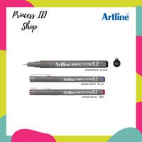Artline 231 Drawing Pen (0,1 - 0,5 m/m) EK-2305