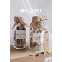 Dried flower bunga kering dalam botol import wangi aroma theraphy