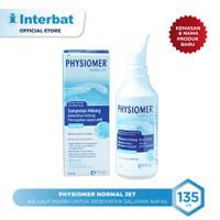 Physiomer Normal Jet Nasal Spray Hygiene Semprot Hidung - 135ml