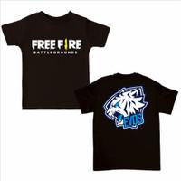Kaos Anak Anak Free Fire Kaos Ff Anak Baju FF Anak Anak 5-10 Tahun