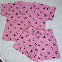 baju setelan anak perempuan motif mickey umur 6-12 tahun/ Disney anak - S, PG01
