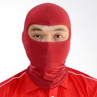 Masker Balaclava /masker motor sarung kepala /Ninja termurah - NINJA MERAH