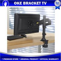 Bracket Monitor/ Breket Jepit Meja/Braket TV NB H80 17-27 inc inch