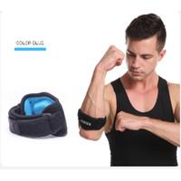 Aolikes Pelindung Siku Premium Import support elbow brace - Biru