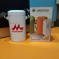(New) Arniss Lunch Box Set KW 0126 Tempat Makan 3 Wadah Bekal Kantor